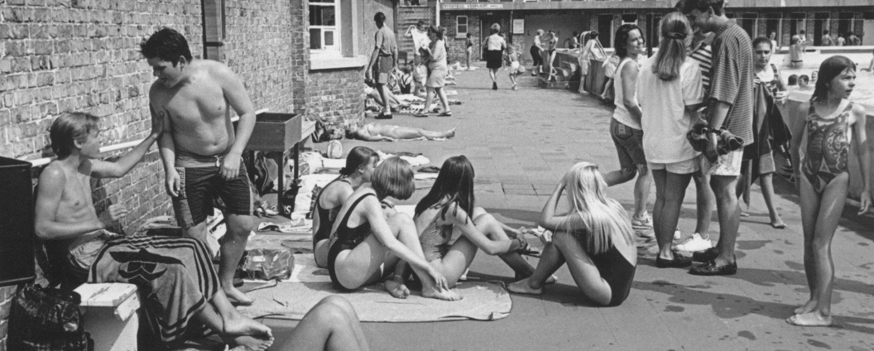 open zwembad 1990