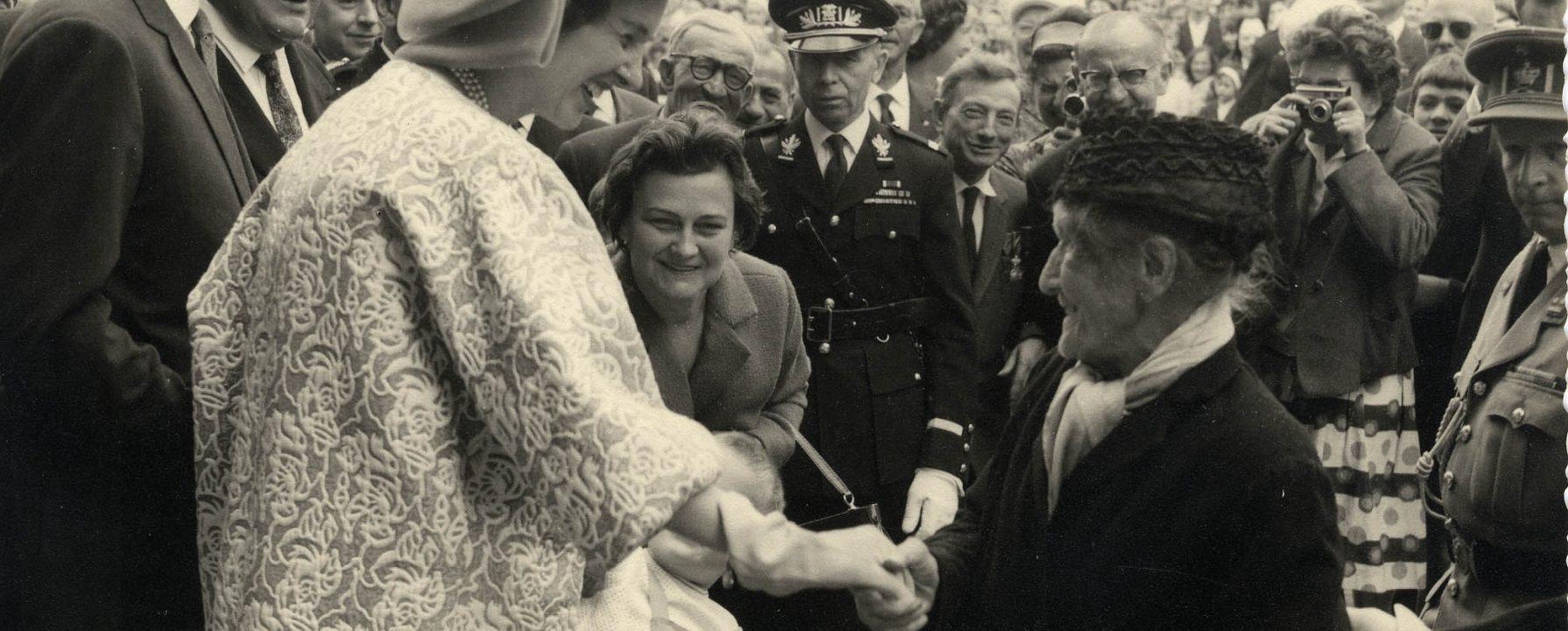 Koning Boudewijn en Koningin Fabiola 1964
