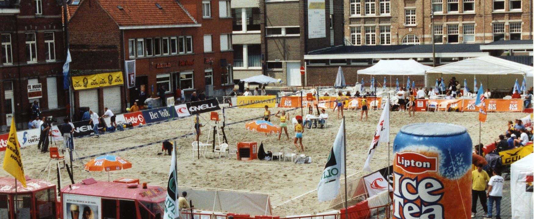 Tornooi Belgian Beach Volley 1998